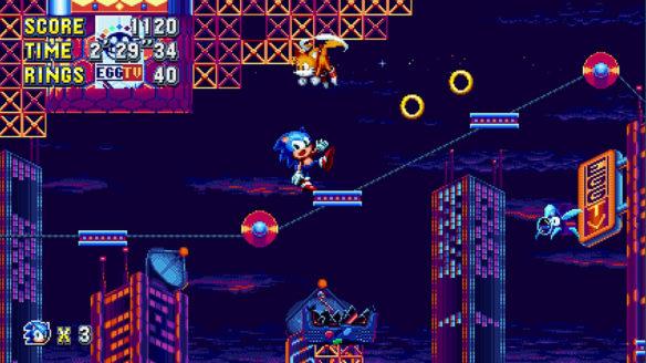 Sonic Mania jeżyk
