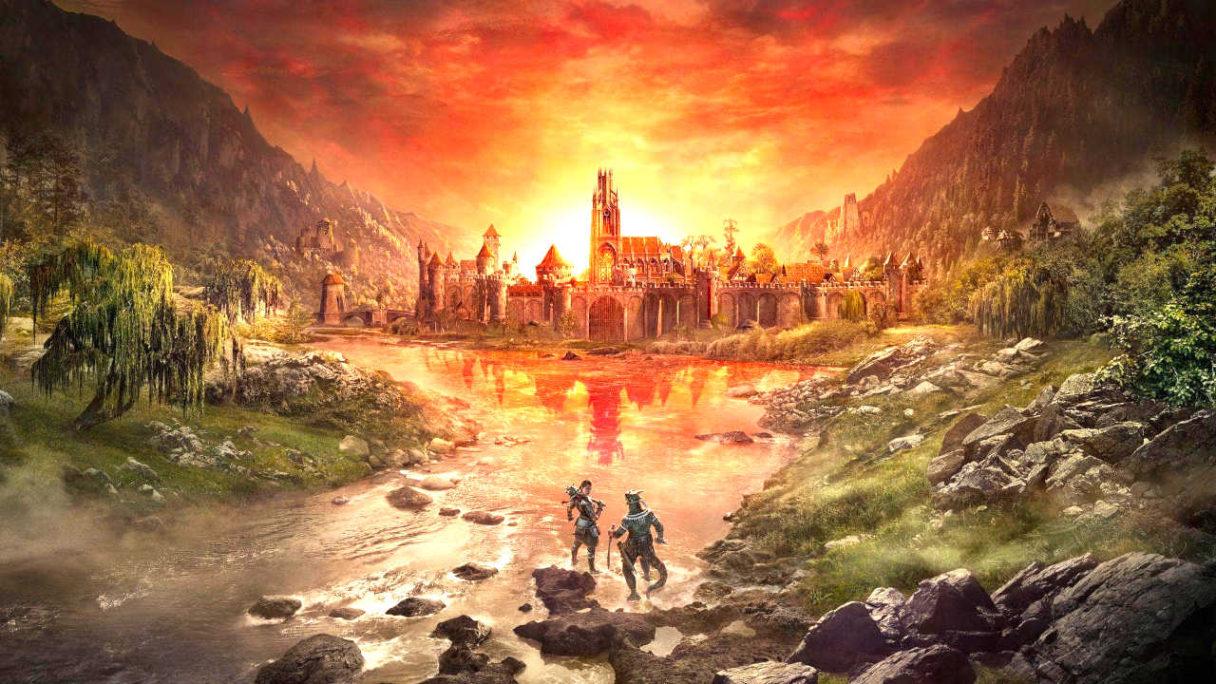 TES VI - grafika z The Elder Scrolls Online
