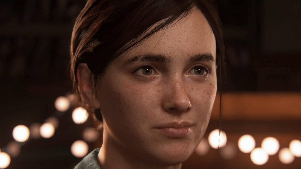 The Last of Us 2 - zbliżenie na twarz głównej bohaterki