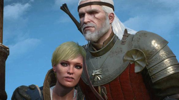 Ves i Geralt w Wiedźmin 3