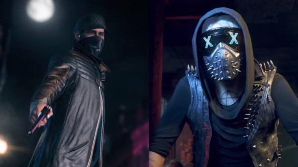 Watch Dogs Legion Bloodline - dwójka bohaterów z poprzednich części