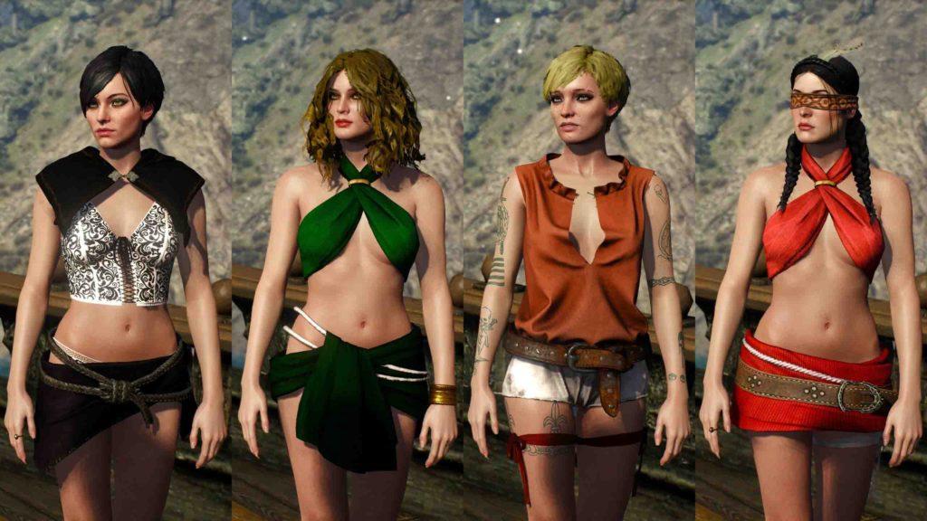Wiedźmin 3 - kostiumy
