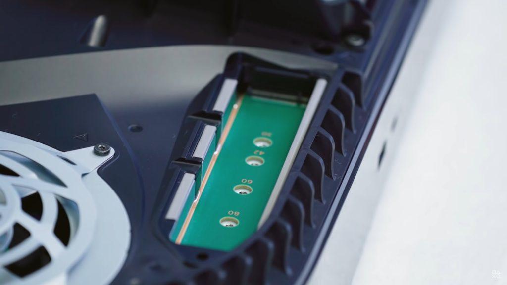 PS5 dodatkowy wewnętrzny dysk