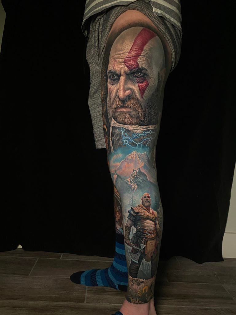 Tatuaż God of War2