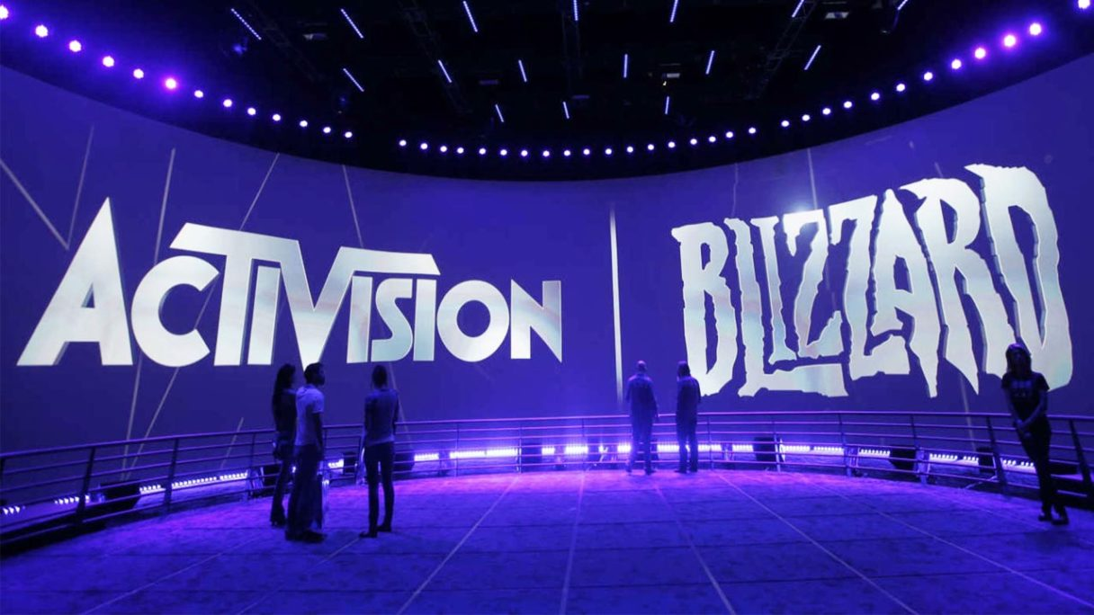 Activision Blizzard - logo spółki