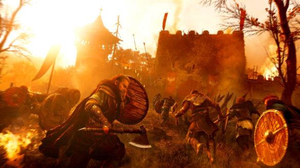 Assassin's Creed Valhalla - atak na wioskę