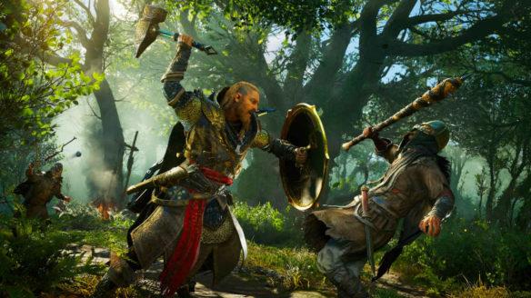 Assassin's Creed Valhalla - Eivor walczy z wrogiem