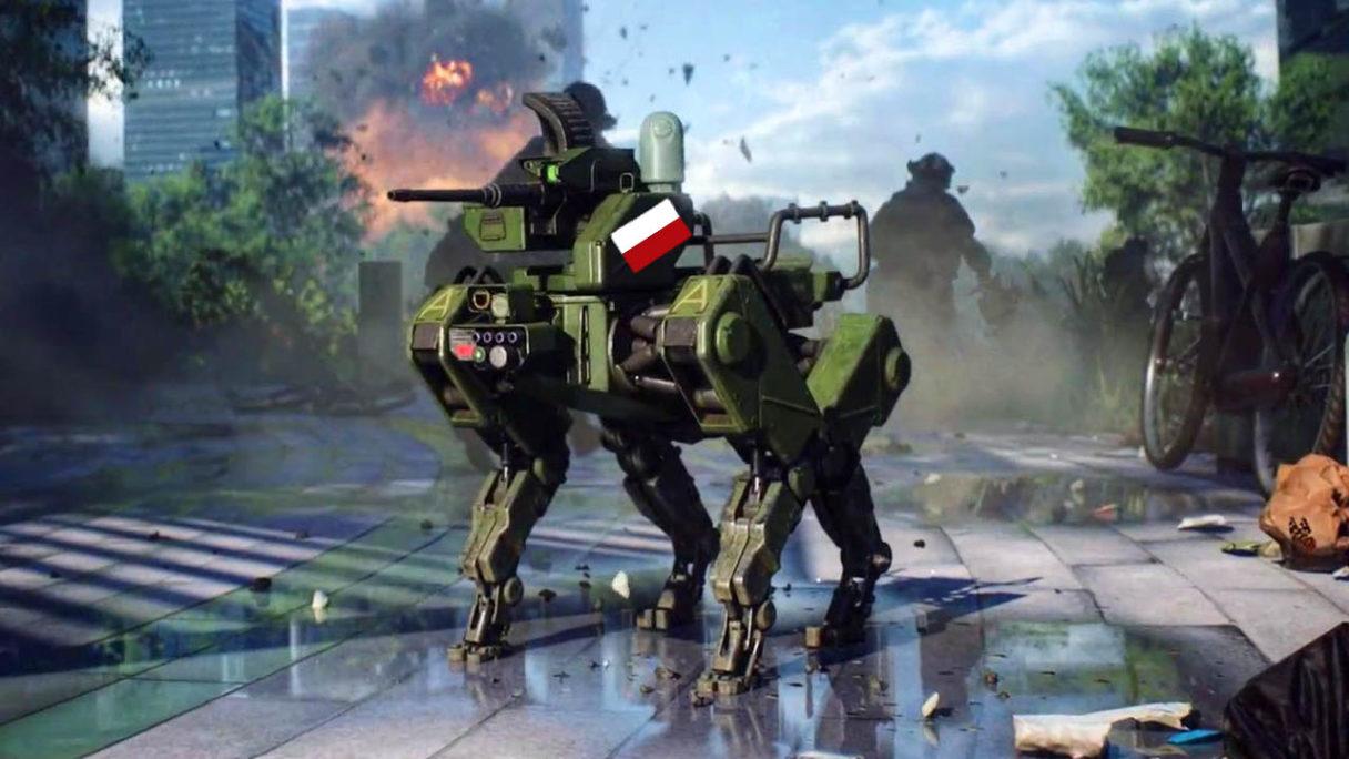 Battlefield 2042 - robot Szarik