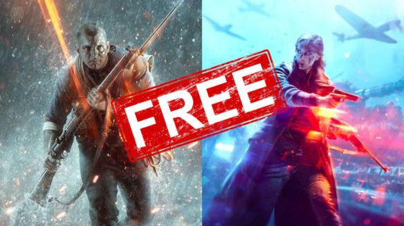 Battlefield V i Battlefield 1 za darmo