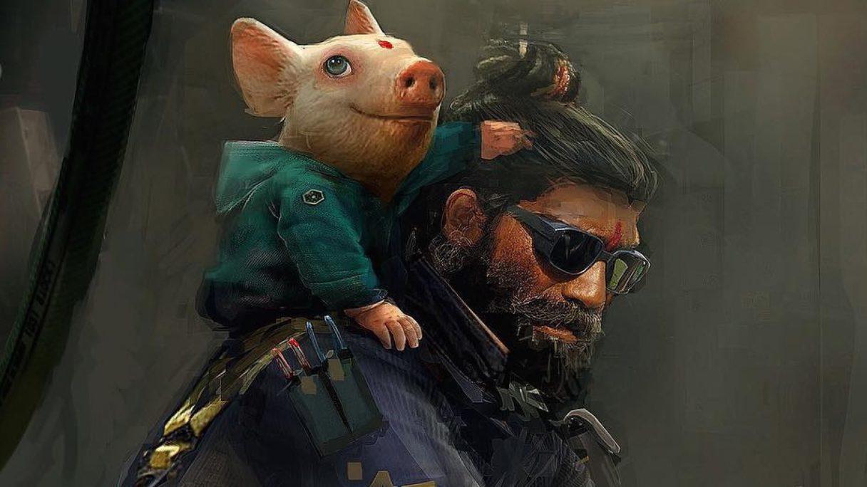 Beyond Good and Evil 2 świnka chrum