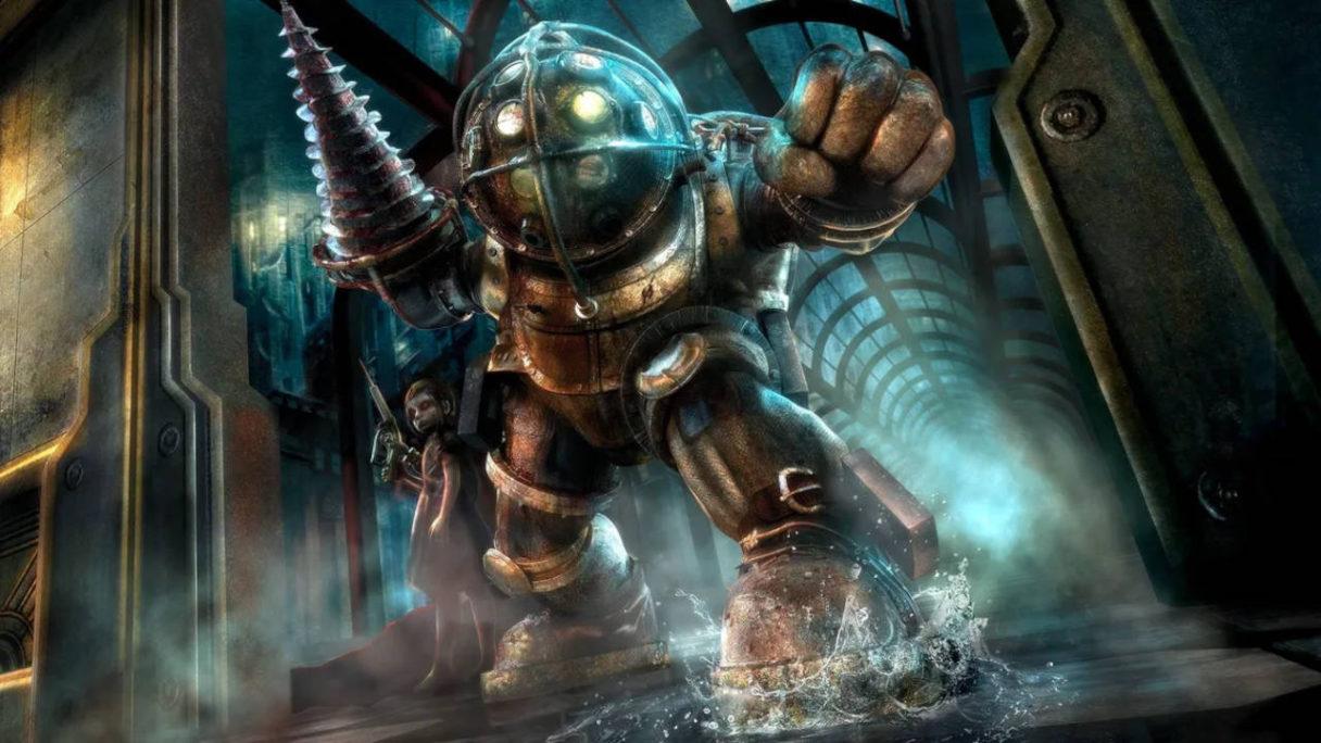 Bioshock - Big Daddy z dzieckiem