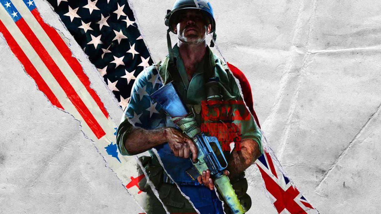 Call of Duty Black Ops Cold War - grafika z żołnierzem
