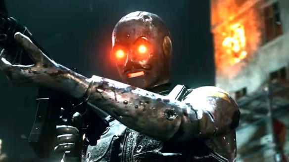 Call of Duty Black Ops Cold War - robot Klaus z trybu zombie