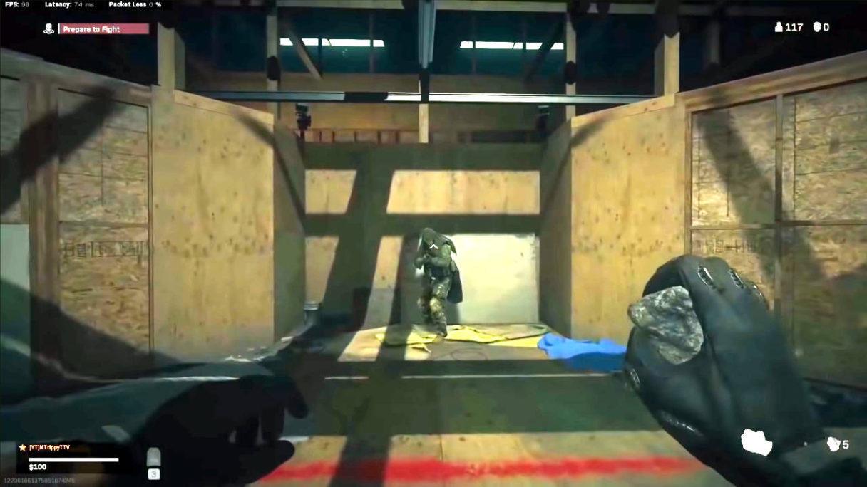 Call of Duty Warzone - gracz przedostał się na pole bitwy w gułagu jako spectator