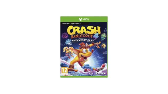 crash bandicoot najwyższy czas xbox
