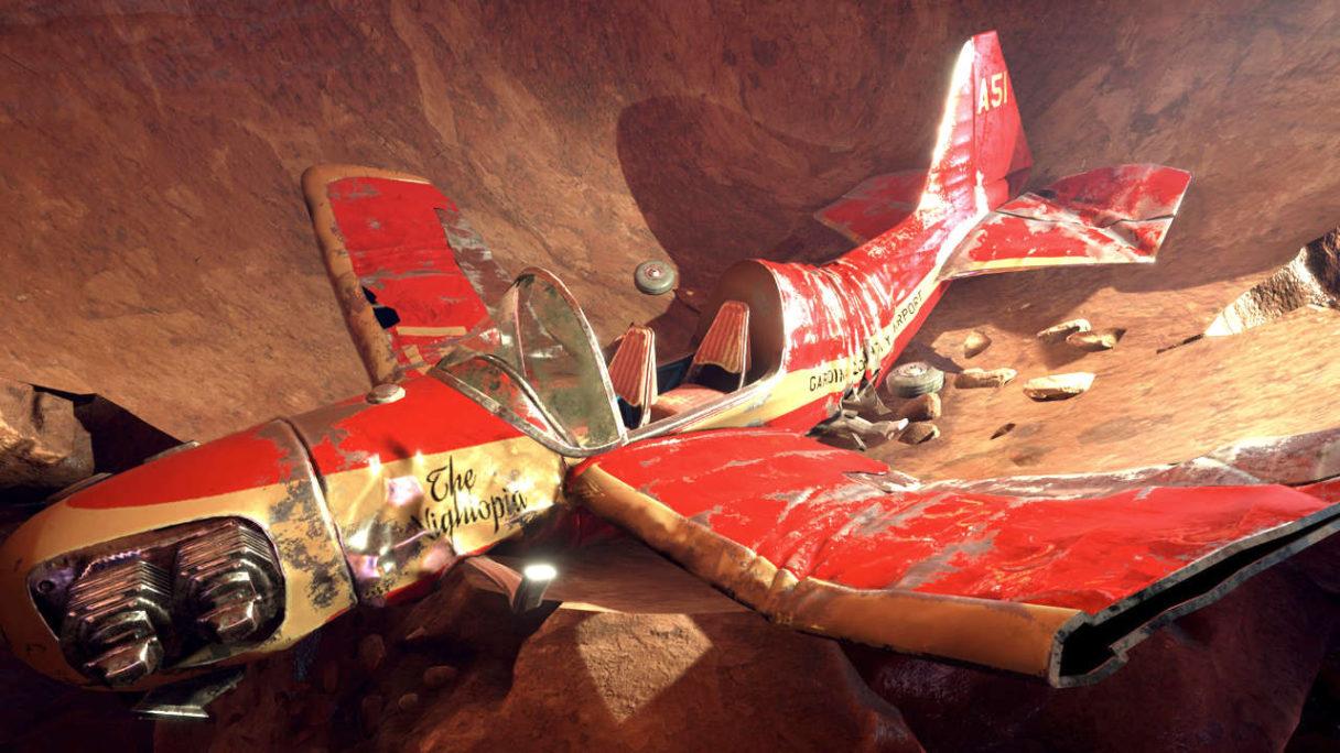 Darmowe gry tego tygodnia - rozbity samolot w jaskini z Obduction