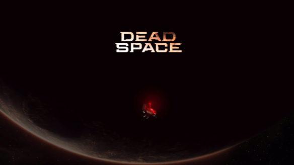 Dead Space - grafika z tytułem i statkiem kosmicznym