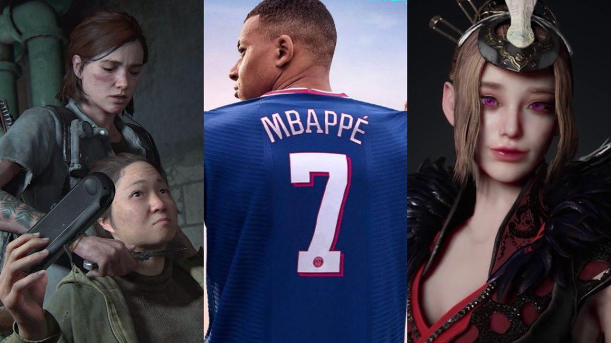 DoGRYwka - Ellie próbuje poderżnąć gardło kobiecie, Kylian Mbappé, postać z Hunter's Arena_ Legends