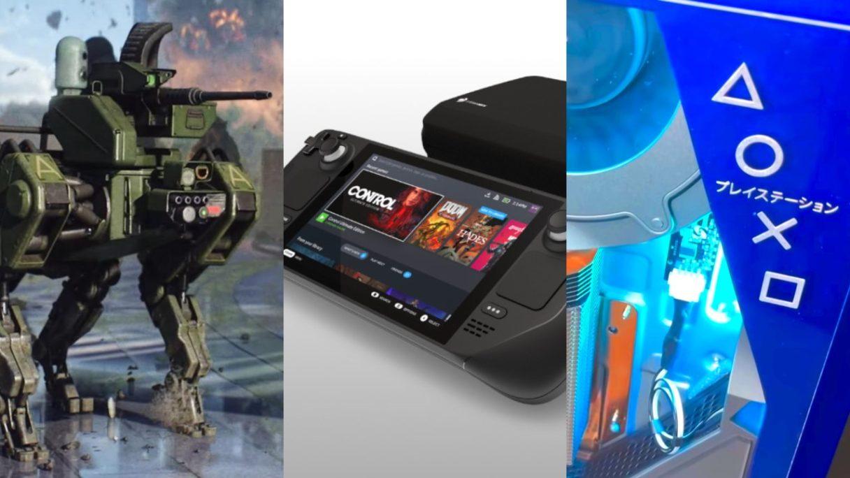 DoGRYwka - Szarik z Battlefield 2042, Steam Deck z euti, podrasowane PS5 z przeszkloną obudową