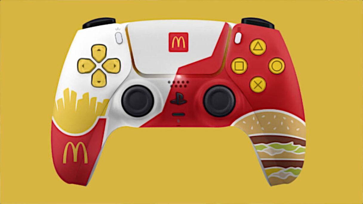 PlayStation DualSense McDonald's Edition