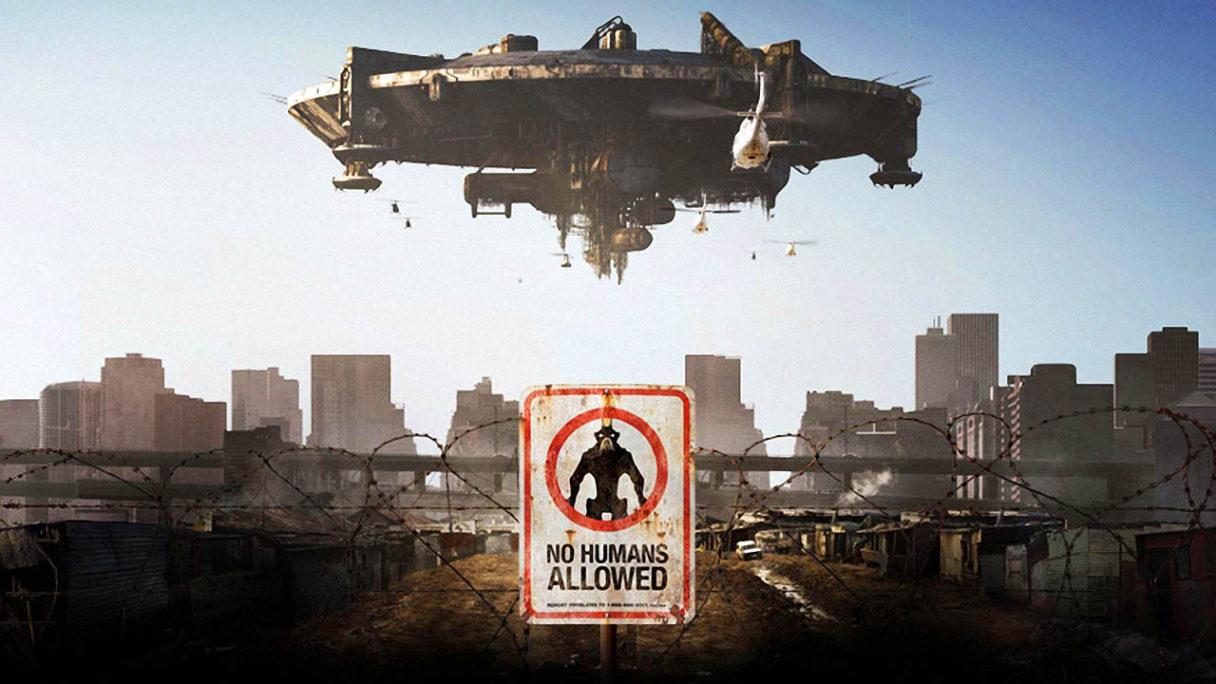 Neill Blomkamp Dystrykt 9 - grafika z filmu