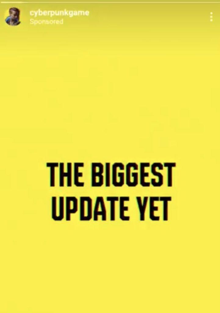 Reklama Cyberpunka z Instagrama 2