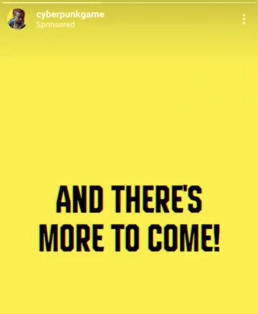 Reklama Cyberpunka z Instagrama 1