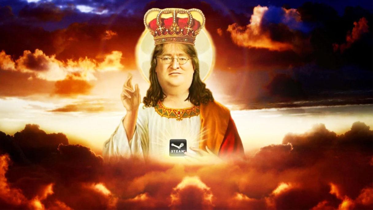 Gabe Newell - szef Valve