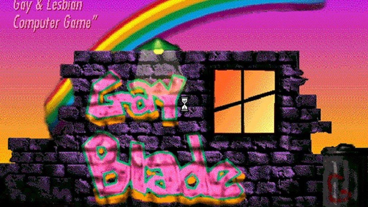 GayBlade tęcza