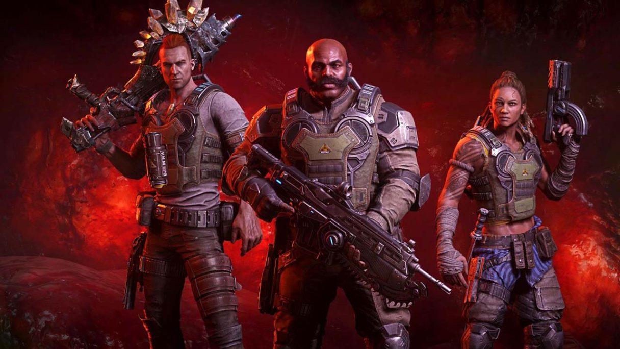 Gears 6 na razie musi zaczekać - grafika z postaciami