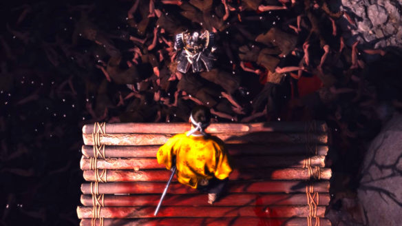 Ghost of Tsushima Director's Cut - zwłoki na dnie dziury