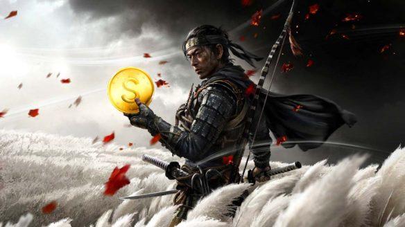 Ghost of Tsushima - Jin z monetą