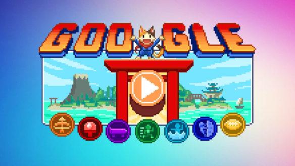 Google Doodle - Doodlowe Zawody na Wyspie Czempionów
