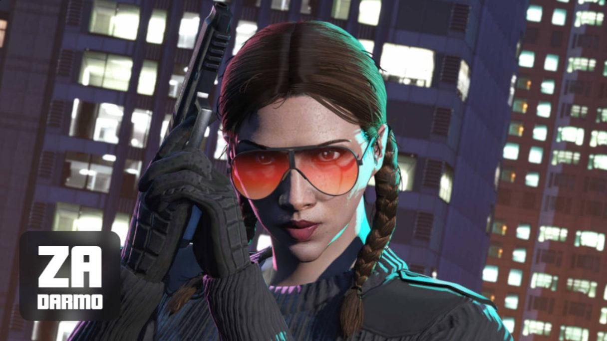 GTA Online - dziewczyna w okularach, które można otrzymać za darmo