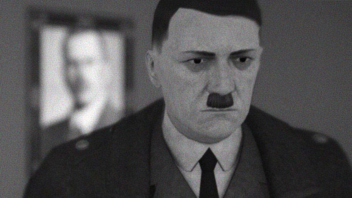 Heal Hitler - smutny Adolf Hitler