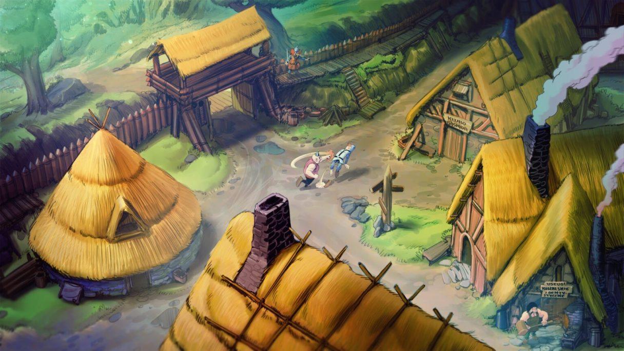 Kajko i Kokosz Na plasterki, walka ze zbójcerzem