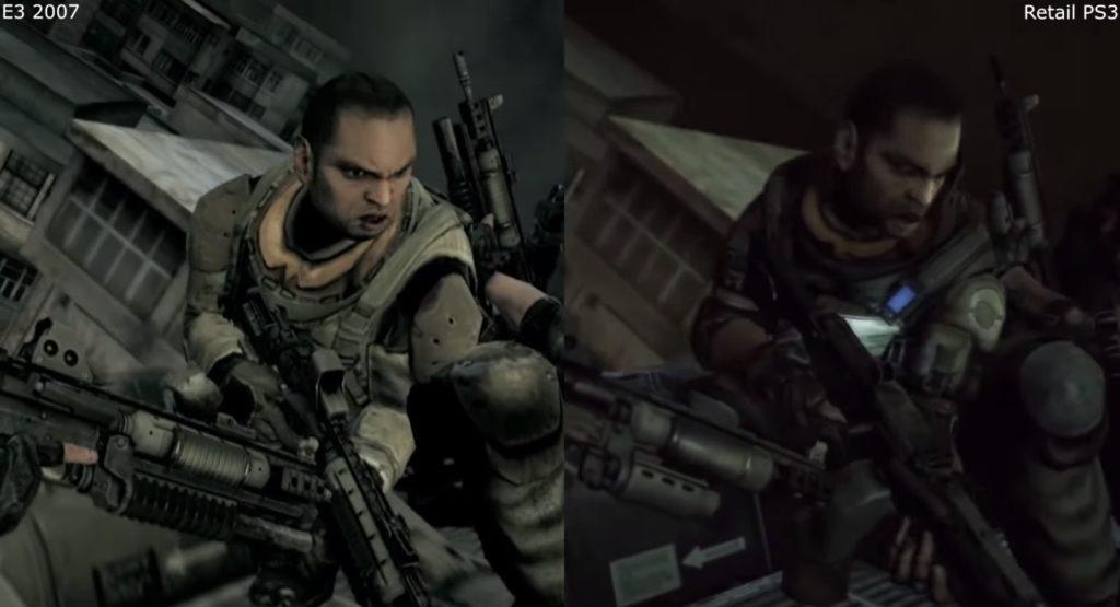 Porównanie graficzne Killzone 2