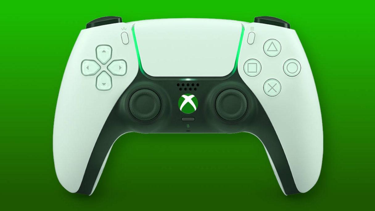 Kontroler DualSense z logo Xbox
