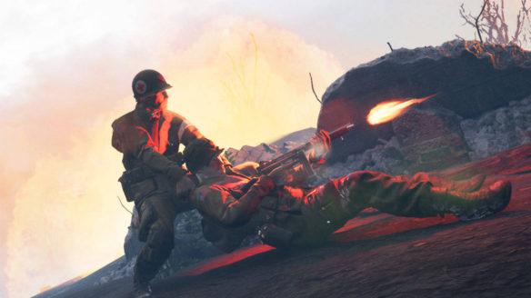 Medic Pacific War - ratowanie towarzysza