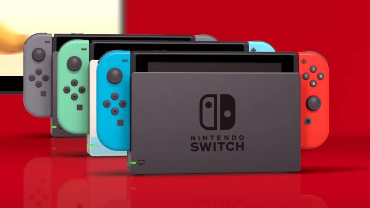 Nintendo Switch - konsole w różnych wersjach kolorystycznych