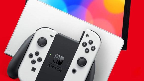 Nintendo Switch OLED - zdjęcie