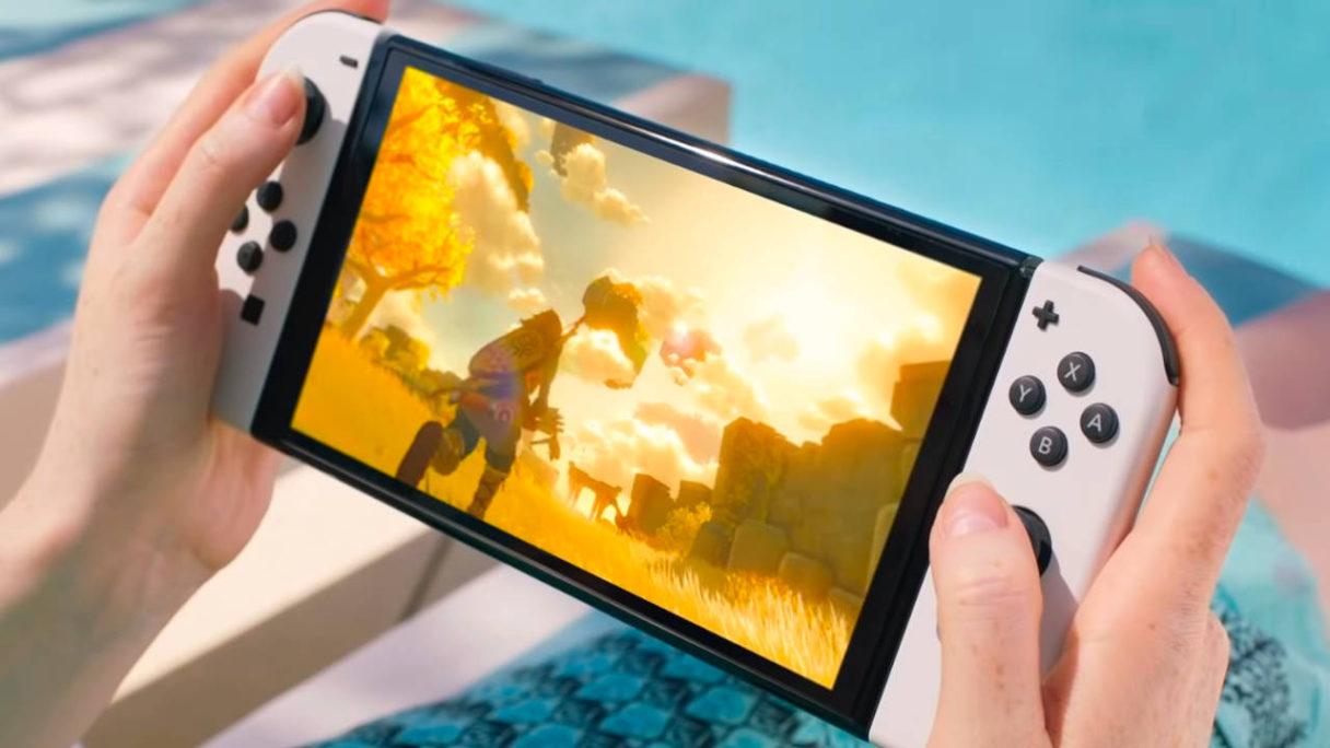 Nintendo Switch OLED Zelda Breath of the Wild 2
