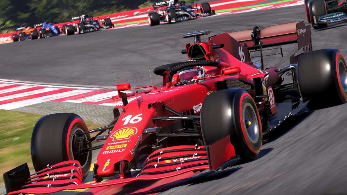 Nowe gry na PlayStation - czerwony bolid F1