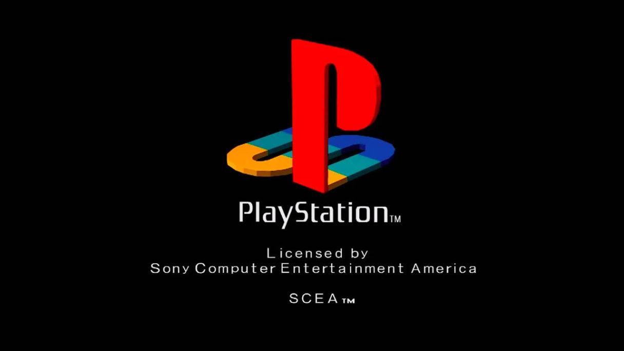 PlayStation - logo widoczne przy uruchomieniu gry z konsoli PSX