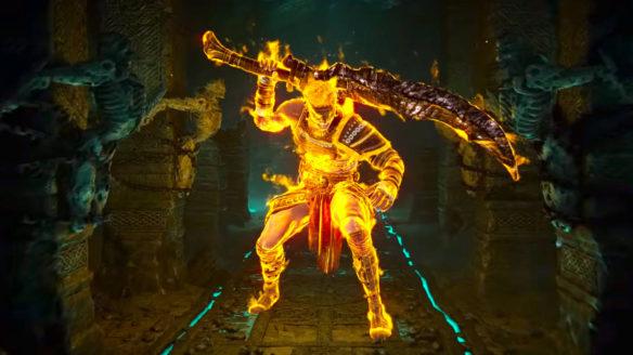 PlayStation - ślepy boss z Demon's Souls