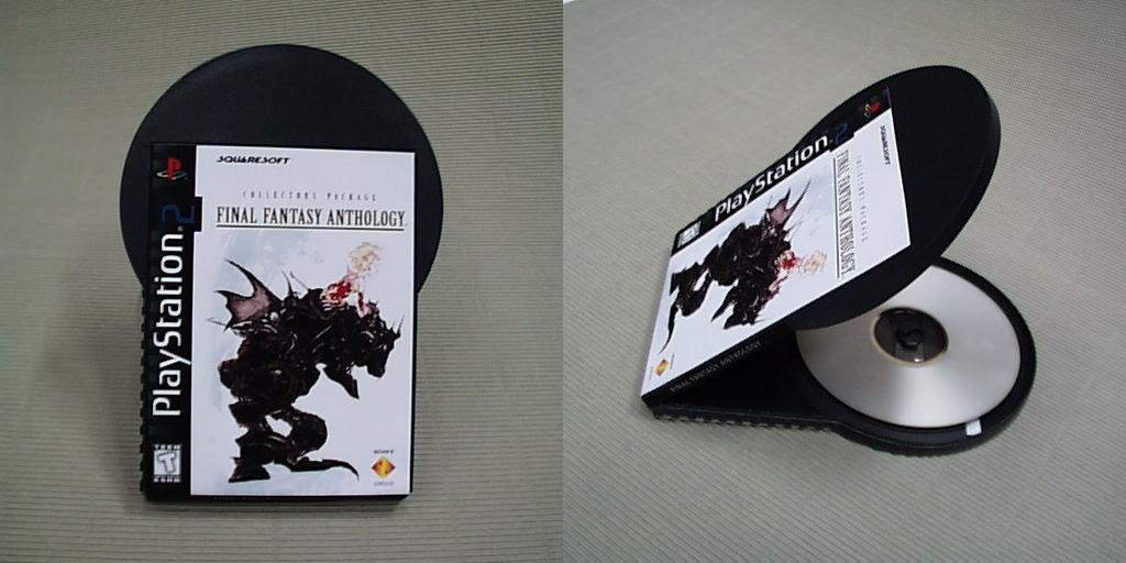 PS2 - prototyp pudełek na gry