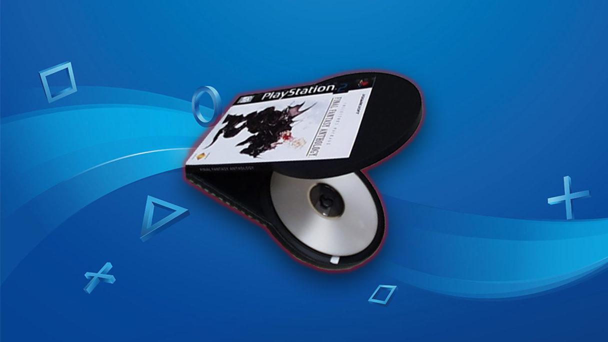 PS2 - nieużyty projekt pudełka na gry