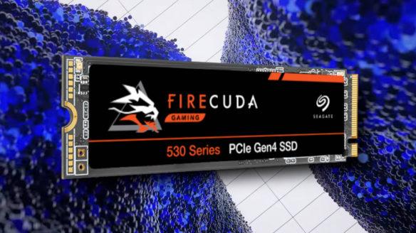 PS5 - dysk ssd Seagate FireCuda 530