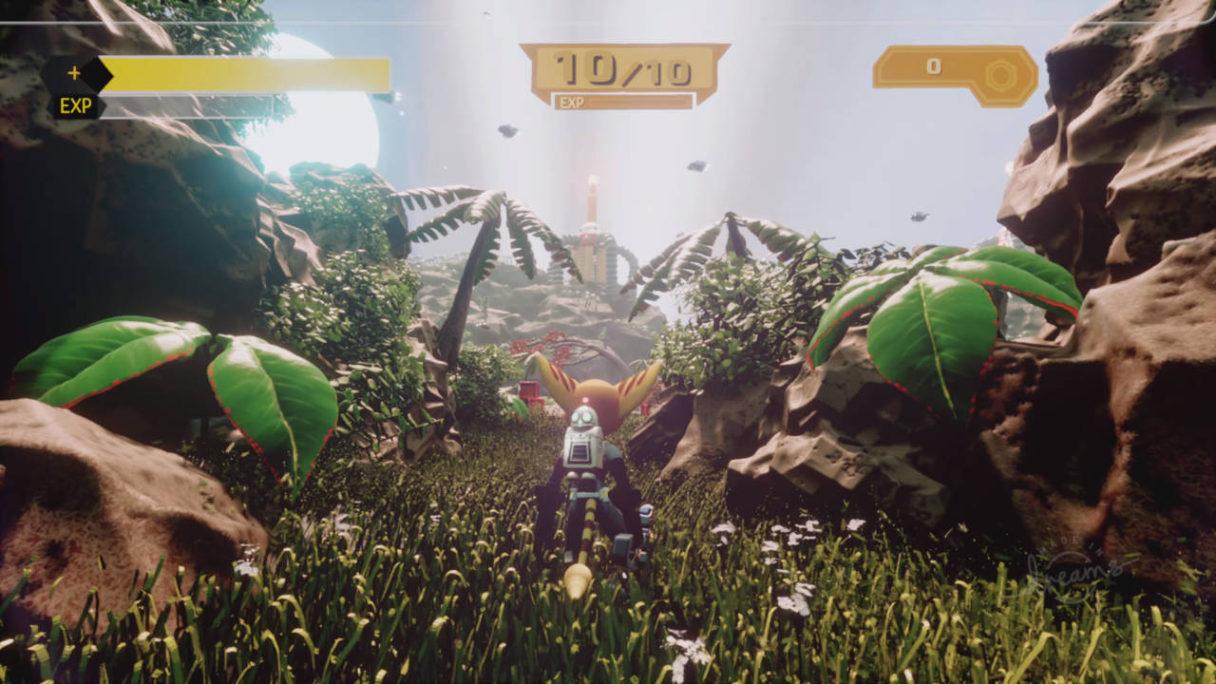 Ratchet & Clank odtworzone w Dreams - kadr z tworu fana