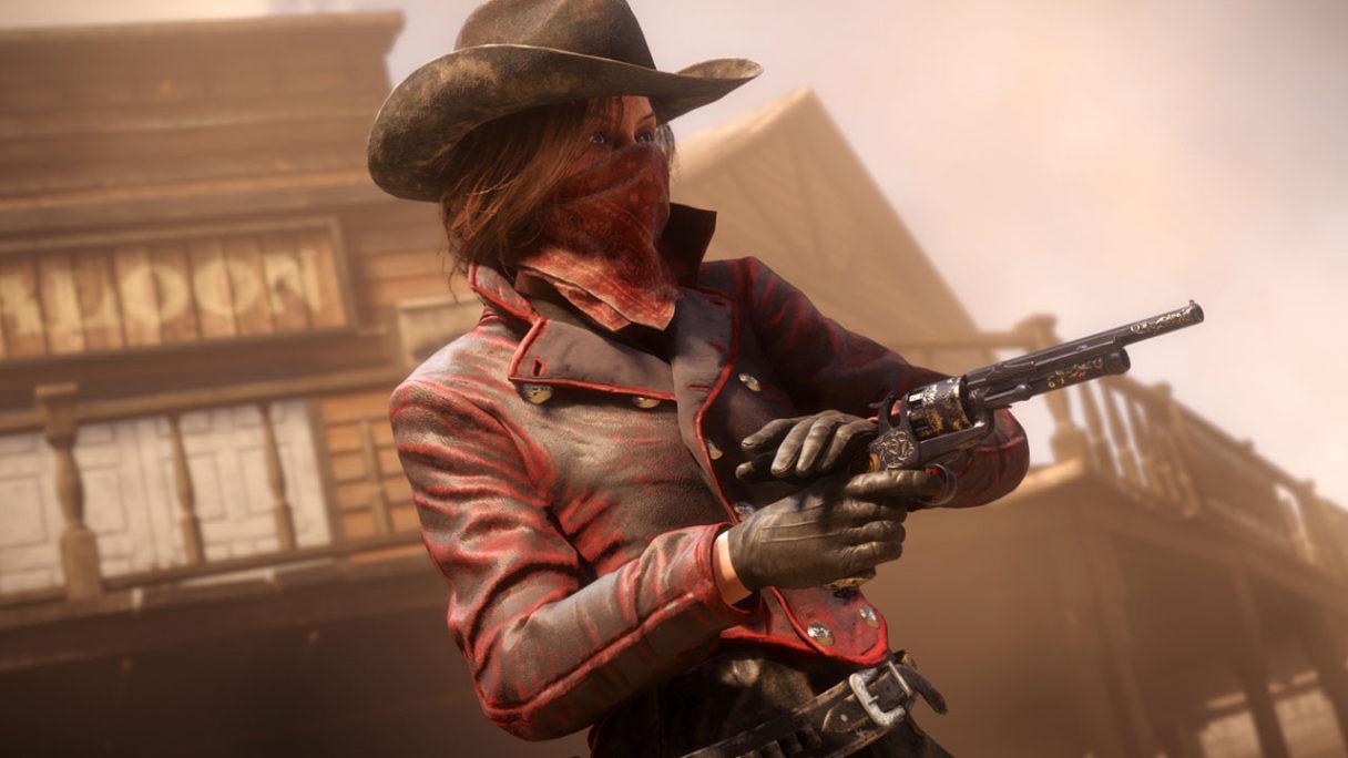 Red Dead Online - postać